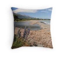 The Abel Tasman - New Zealand Throw Pillow