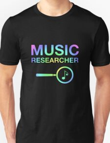 Music Researcher T-Shirt
