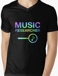 Music Researcher Mens V-Neck T-Shirt
