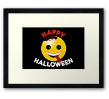 Happy Halloween - Keep on Smiling - for Kids Framed Print