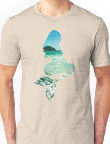 Mermaid ocean beach boho cool trendy pretty design Unisex T-Shirt