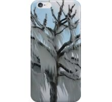 TREE COVERED IN ICE DURING A WINTER STORM-PILLOWS-TOTE BAG-TEE SHIRT- CARD- PICTURE ECT... iPhone Case/Skin