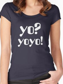 Yo  Yoyo Women's Fitted Scoop T-Shirt