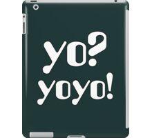 Yo  Yoyo iPad Case/Skin