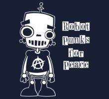 Robot Punks for Peace One Piece - Short Sleeve