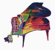 Grand piano by knightingail