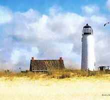 St. George Island Lighthouse (Views: 12,299) by Rhonda Strickland