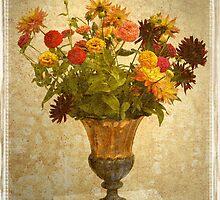 Fall Vase by Kenneth Hoffman