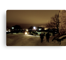 Observation Point on New Year´s Eve I Canvas Print