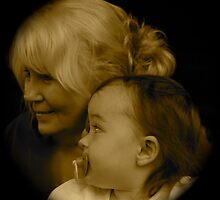 Child and her Grandmother by Gordon Taylor