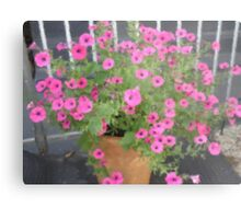 Pink Fantasia -Corel Photo painter Metal Print
