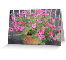 Pink Fantasia -Corel Photo painter Greeting Card