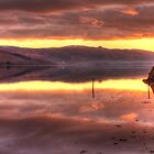 Inveraray Sunset over Loch Fyne by Andrew Littlejohn