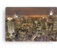 New York After Dark Canvas Print