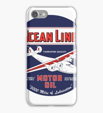 Ocean Liner Motor Oil iPhone Case/Skin