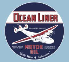 Ocean Liner Motor Oil Baby Tee