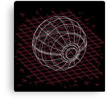 Digital Pokeball Canvas Print