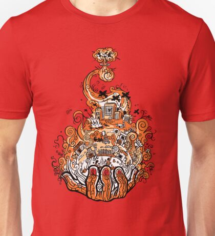 History of Flame Unisex T-Shirt