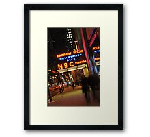 Saturday Night Live - NBC Studios Framed Print