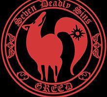 Ban Greed Nanatsu No Taizai 7 Deadly Sins Logo Anime Cosplay Japan T Shirt by zombiehorde