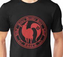 Ban Greed Nanatsu No Taizai 7 Deadly Sins Logo Anime Cosplay Japan T Shirt Unisex T-Shirt