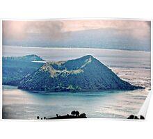 World's Smallest Volcano Poster