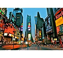 Times Square - New York Photographic Print