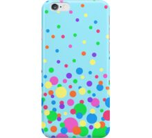Colorful Polka Dot Confetti iPhone Case/Skin