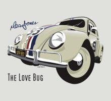 VW Beetle Herbie the Love bug T-Shirt
