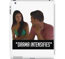 DRAMA INTENSIFIES iPad Case/Skin