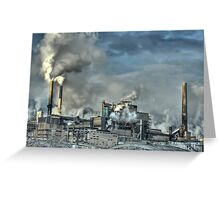 Industrial Trail Greeting Card