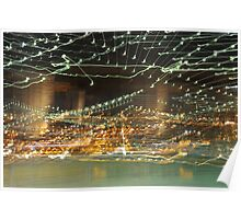 Brooklyn Bridge in Abstract Poster