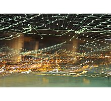 Brooklyn Bridge in Abstract Photographic Print