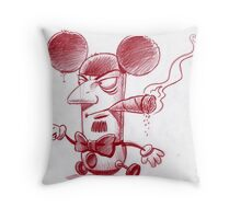 I'm the big cheese, see?! Throw Pillow