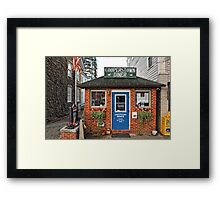Cooperstown Diner - Upstate New York Framed Print