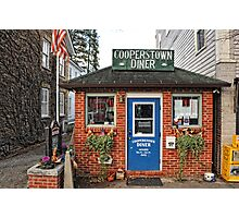 Cooperstown Diner - Upstate New York Photographic Print