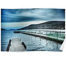 Lake Otsego - Cooperstown, NY Poster