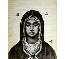 Theotokos - Mother of God Photographic Print