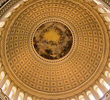 Interior Dome, US Capitol - Washington, DC by Shutter and Smile Photography