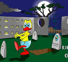 """Rick the chick """"ZOMBIE"""" by CLAUDIO COSTA"""
