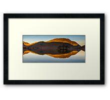 Crummock reflection, Lake District, United Kingdom Framed Print