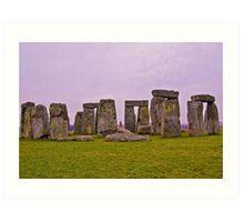 Stonehenge, England Art Print