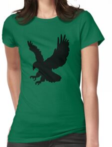 Eagle Silhouette Womens Fitted T-Shirt