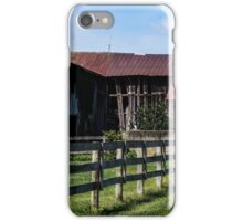 WEATHERED EQUESTRIAN FARM iPhone Case/Skin