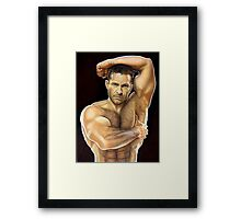 Adam Champ Color Pencil @ www.KeithMcDowellArtist.com  Framed Print
