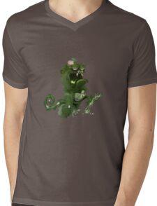 zombie ape Mens V-Neck T-Shirt