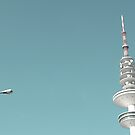 street lamp tv tower by codswollop