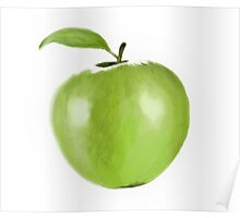 Apple Doodle Poster