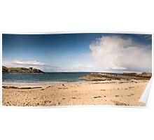 Clactoll Beach, Assynt, Scotland Poster