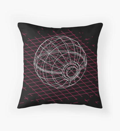 Digital Pokeball Throw Pillow